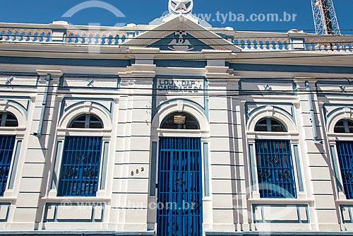 Prédio da loja maçônica em Teresina  - Teresina - Piauí (PI) - Brasil