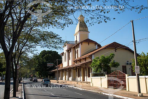 Vista geral da antiga Estação Ferroviária de Teresina, hoje abriga o Espaço Cultural Trilhos (1926)  - Teresina - Piauí (PI) - Brasil
