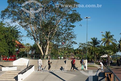 Pista de skate no Parque Potycabana  - Teresina - Piauí (PI) - Brasil