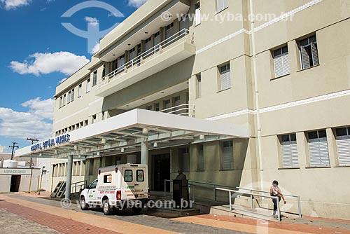 Fachada do Hospital Estadual Getúlio Vargas  - Teresina - Piauí (PI) - Brasil