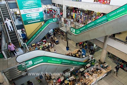 Escadas rolantes no interior do Shopping da Cidade de Teresina  - Teresina - Piauí (PI) - Brasil
