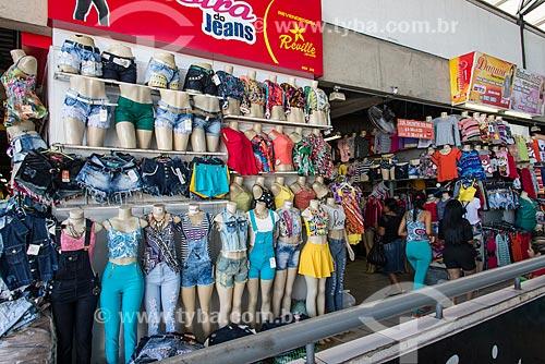 Roupas à venda no Shopping da Cidade de Teresina  - Teresina - Piauí (PI) - Brasil