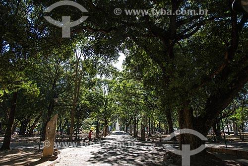 Praça Marechal Deodoro da Fonseca - também conhecida como Praça da Bandeira  - Teresina - Piauí (PI) - Brasil