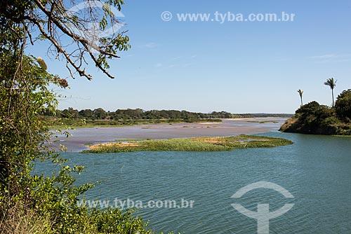 Parque Municipal do Encontro dos Rios - vista do encontro das águas do Rio Poti e Rio Parnaíba - ao fundo  - Teresina - Piauí (PI) - Brasil