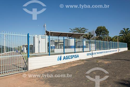 Estação de Tratamento de Água de Santa Maria da Codipi  - Teresina - Piauí (PI) - Brasil
