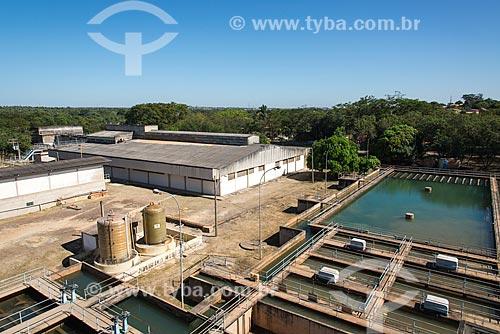 Tanques da Estação de Tratamento de Água Zona Sul  - Teresina - Piauí (PI) - Brasil