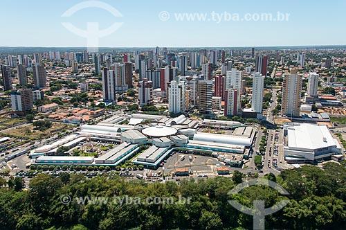 Foto aérea do Shopping Riverside  - Teresina - Piauí (PI) - Brasil