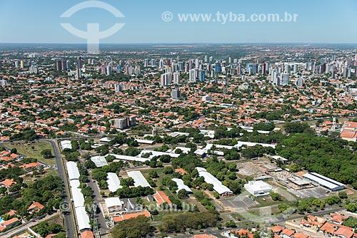 Foto aérea do Campus Teresina Ministro Petrônio Portella da Universidade Federal do Piauí  - Teresina - Piauí (PI) - Brasil
