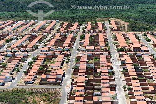 Foto aérea do Conjunto Residencial Jacinta Andrade - maior empreendimento do Programa Minha Casa Minha Vida  - Teresina - Piauí (PI) - Brasil