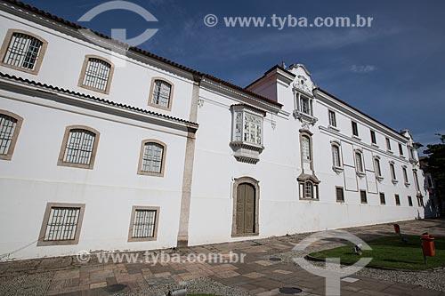 Fachada posterior do Museu Histórico Nacional  - Rio de Janeiro - Rio de Janeiro (RJ) - Brasil