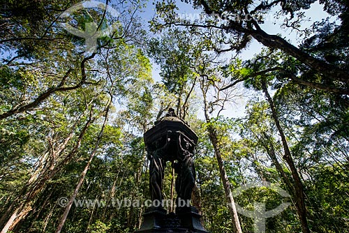 Fonte Wallace (Século XIX) no Parque Nacional da Tijuca  - Rio de Janeiro - Rio de Janeiro (RJ) - Brasil