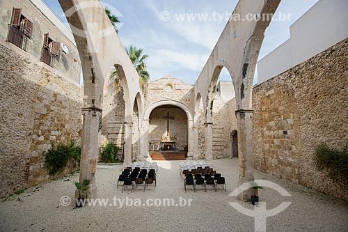 Interior da Chiesa di San Giovanni Battista (Igreja de São João Batista) - século XVIII  - Siracusa - Província de Siracusa - Itália
