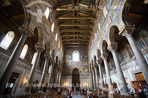 Teto da Duomo di Monreale (Catedral de Monreale)  - Monreale - Província de Palermo - Itália
