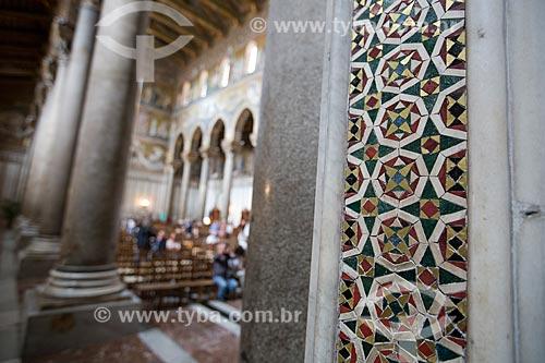 Interior da Duomo di Monreale (Catedral de Monreale)  - Monreale - Província de Palermo - Itália