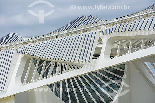 Detalhe do Museu do Amanhã  - Rio de Janeiro - Rio de Janeiro (RJ) - Brasil