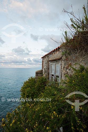 Casa da cidade de Cefalù às margens do Mar Tirreno  - Cefalù - Província de Palermo - Itália