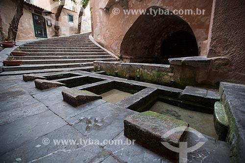 Lavatório medieval da cidade de Cefalù  - Cefalù - Província de Palermo - Itália