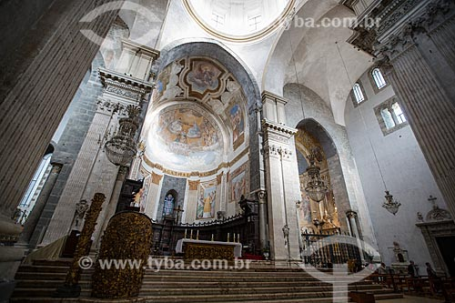 Interior da Duomo di Catania - Cattedrale di SantAgata (Catedral de Santa Agatha)  - Catânia - Província de Catânia - Itália