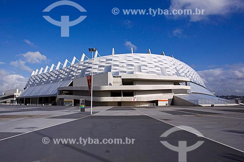 Fachada da Itaipava Arena Pernambuco (2013)  - São Lourenço da Mata - Pernambuco (PE) - Brasil