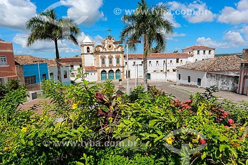 Fachada do Convento e Igreja Santa Maria dos Anjos - também conhecido como Convento e Igreja de Nossa Senhora dos Anjos (século XVII)  - Penedo - Alagoas (AL) - Brasil