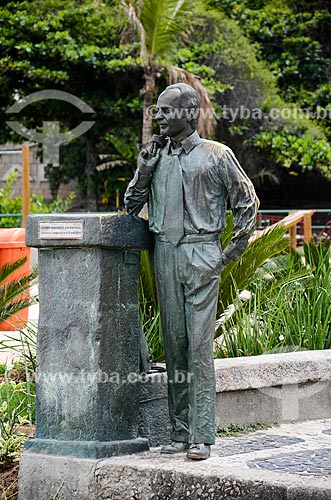 Estátua do jornalista Zózimo Barroso do Amaral (2001)  - Rio de Janeiro - Rio de Janeiro (RJ) - Brasil