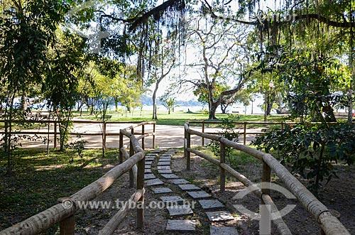 Trilha no Parque Darke de Mattos na Ilha de Paquetá  - Rio de Janeiro - Rio de Janeiro (RJ) - Brasil