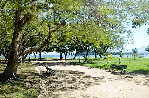 Vista do Parque Darke de Mattos na Ilha de Paquetá  - Rio de Janeiro - Rio de Janeiro (RJ) - Brasil