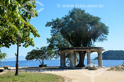 Coreto no Parque Darke de Mattos na Ilha de Paquetá  - Rio de Janeiro - Rio de Janeiro (RJ) - Brasil