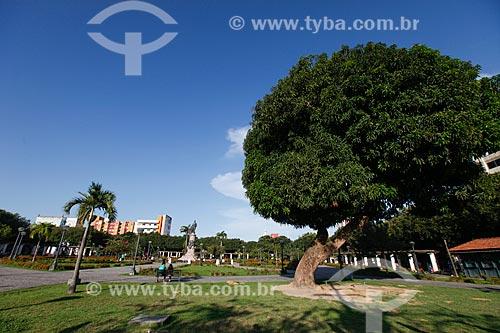 Vista geral da Praça da Saudade  - Manaus - Amazonas (AM) - Brasil