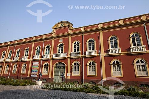 Palacete Provincial (1874) - hoje abriga diversos museus  - Manaus - Amazonas (AM) - Brasil