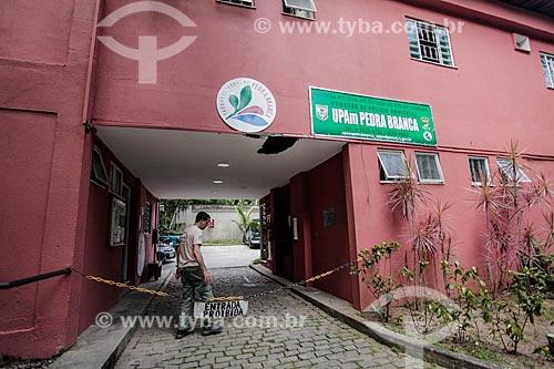 Entrada da Sub-sede do Piraquara - Parque Estadual da Pedra Branca  - Rio de Janeiro - Rio de Janeiro (RJ) - Brasil