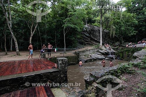 Cachoeira do Barata na Serra do Barata - Parque Estadual da Pedra Branca  - Rio de Janeiro - Rio de Janeiro (RJ) - Brasil