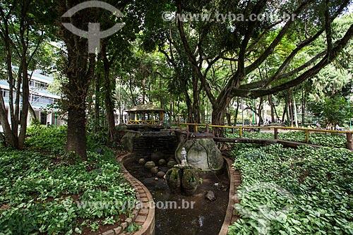 Jardim do Parque Halfeld  - Juiz de Fora - Minas Gerais (MG) - Brasil