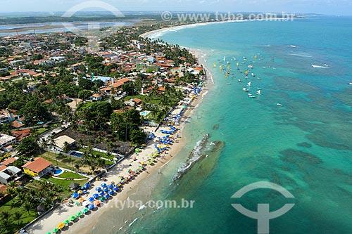 Foto aérea da Praia de Porto de Galinhas  - Ipojuca - Pernambuco (PE) - Brasil