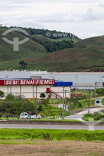 Unidade do SESI/SENAI/FIEMG no Km 773 da Rodovia BR-040  - Juiz de Fora - Minas Gerais (MG) - Brasil