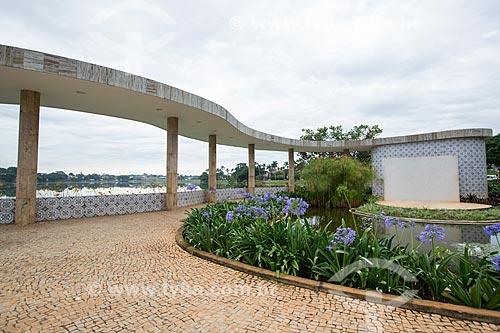 Jardim da Casa do Baile (1943)  - Belo Horizonte - Minas Gerais (MG) - Brasil