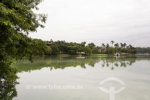 Vista geral da Lagoa da Pampulha  - Belo Horizonte - Minas Gerais (MG) - Brasil