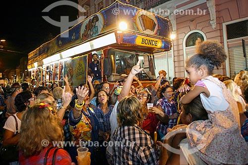 Caminhada do Forró - festa que marca a abertura das comemorações juninas no Recife  - Recife - Pernambuco (PE) - Brasil