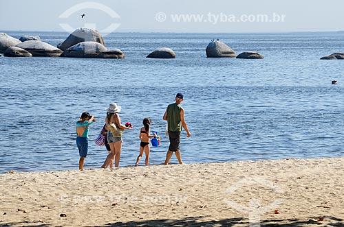 Praia José Bonifácio - também conhecida como Praia da Guarda  - Rio de Janeiro - Rio de Janeiro (RJ) - Brasil