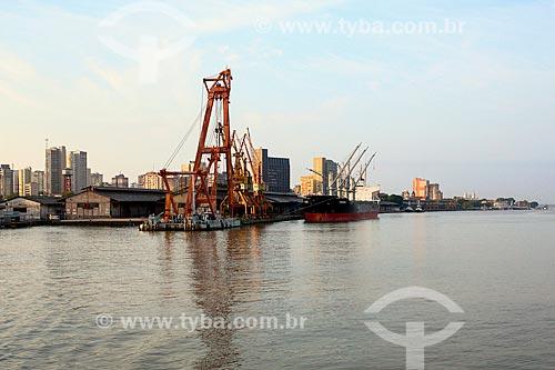 Vista geral do Porto de Belém  - Belém - Pará (PA) - Brasil