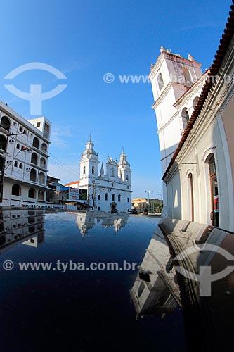 Catedral Metropolitana de Belém (1771) no centro histórico de Belém  - Belém - Pará (PA) - Brasil
