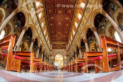 Interior da Catedral Metropolitana de Belém (1771)  - Belém - Pará (PA) - Brasil