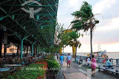 Restaurante na Estação das Docas (2000) - anteriormente parte do Porto de Belém  - Belém - Pará (PA) - Brasil
