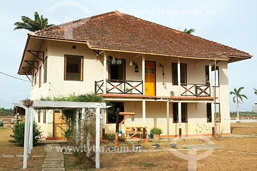 Casario sede da Fazenda do Carmo  - Salvaterra - Pará (PA) - Brasil