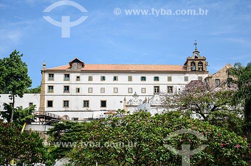 Igreja e Convento de Santo Antônio do Rio de Janeiro (1615) vistos do Largo da Carioca  - Rio de Janeiro - Rio de Janeiro (RJ) - Brasil