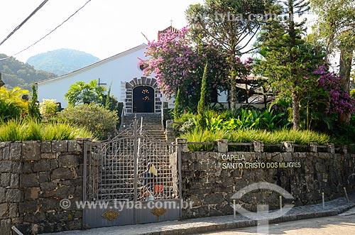 Capela Santo Cristo dos Milagres  - Rio de Janeiro - Rio de Janeiro (RJ) - Brasil