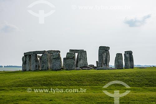 Vista geral do Stonehenge  - Amesbury - Condado de Wiltshire - Inglaterra