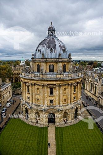Radcliffe Camera (Camara de Radcliffe) - 1749  - na Universidade de Oxford  - Oxford - Condado de Oxfordshire - Inglaterra