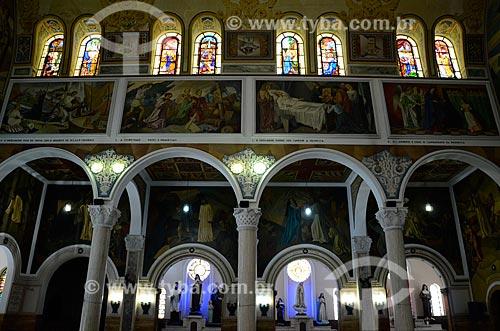 Interior da Igreja de Nossa Senhora do Perpétuo Socorro  - Rio de Janeiro - Rio de Janeiro (RJ) - Brasil