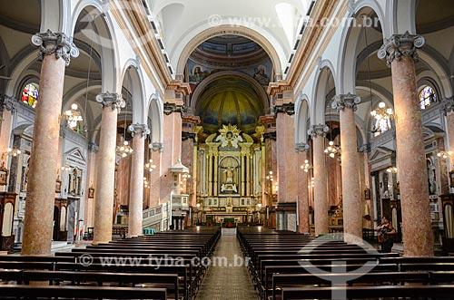 Interior da Igreja de Santo Inácio (1913) - Colégio Santo Inácio  - Rio de Janeiro - Rio de Janeiro (RJ) - Brasil